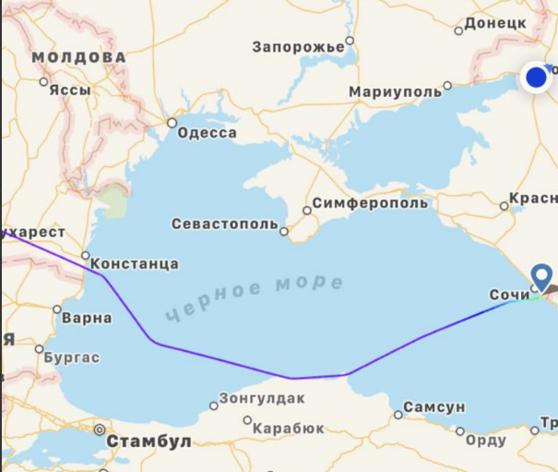 Vladimir Putin a zburat pe deasupra României şi a ocolit cât de mult a putut Ucraina