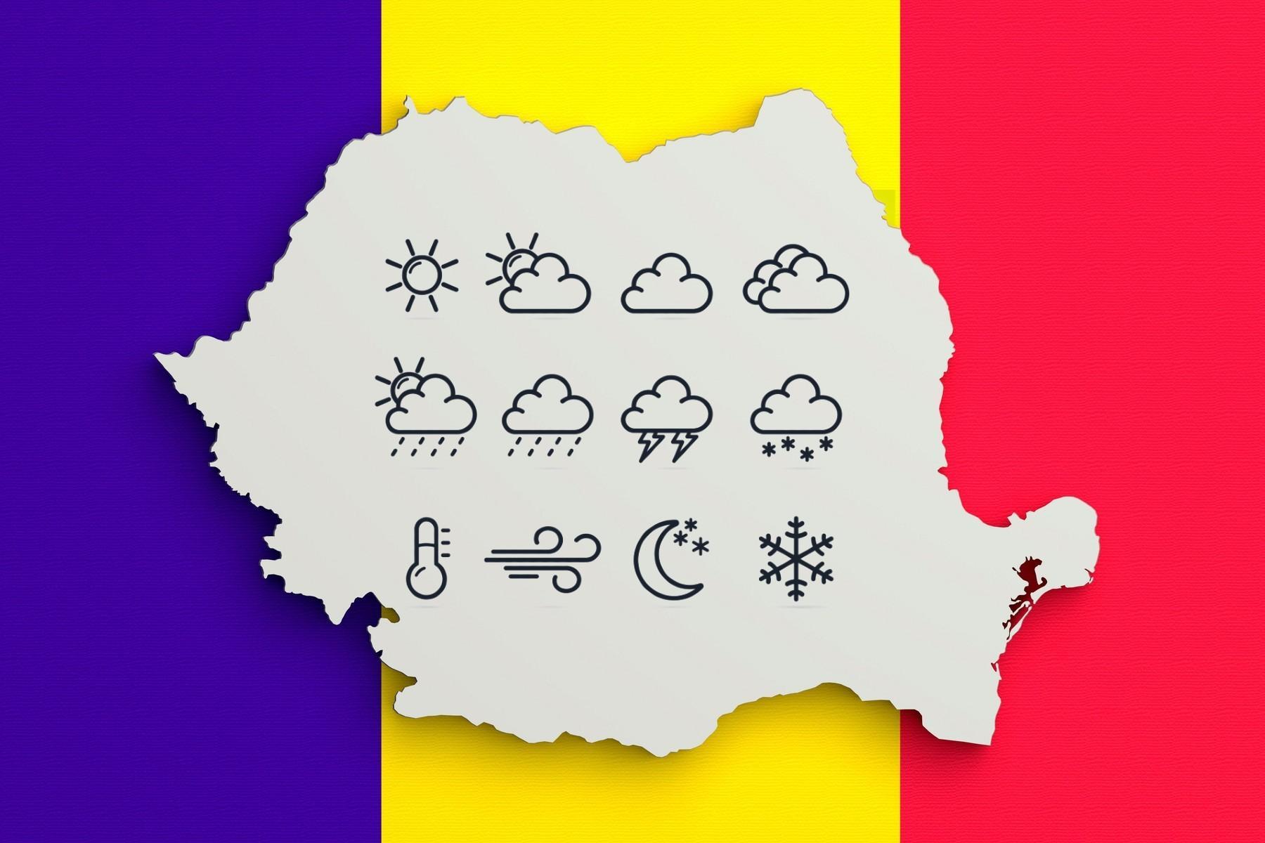 Ploi și vijelii în toată ţară, începând de marţi / Cum va fi vremea?